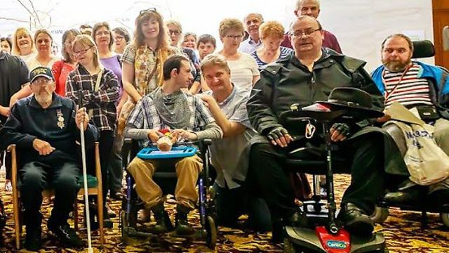 More than 100 disabled people, their parents and carers gathered at a public meeting at County Hall
