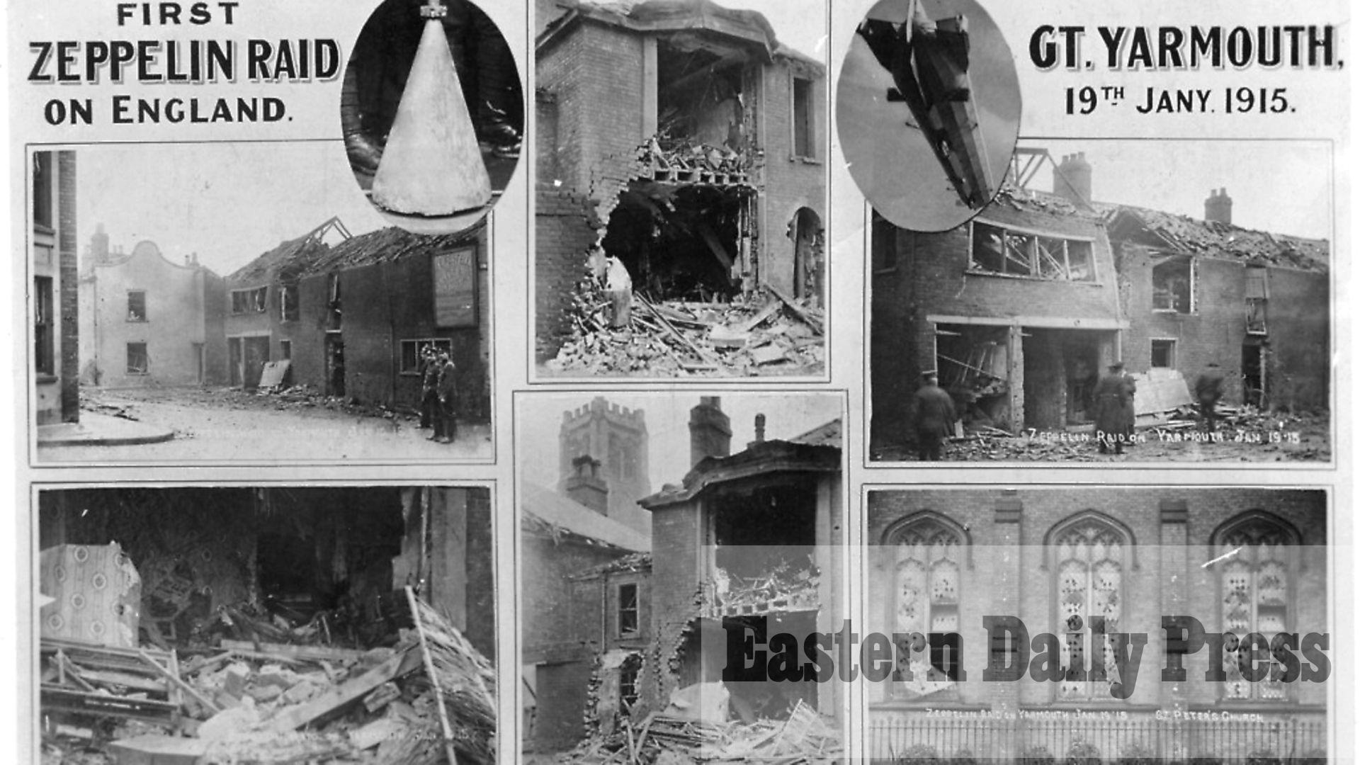 Great Yarmouth and King's Lynn zeppelin raids anniversary | Eastern Daily  Press