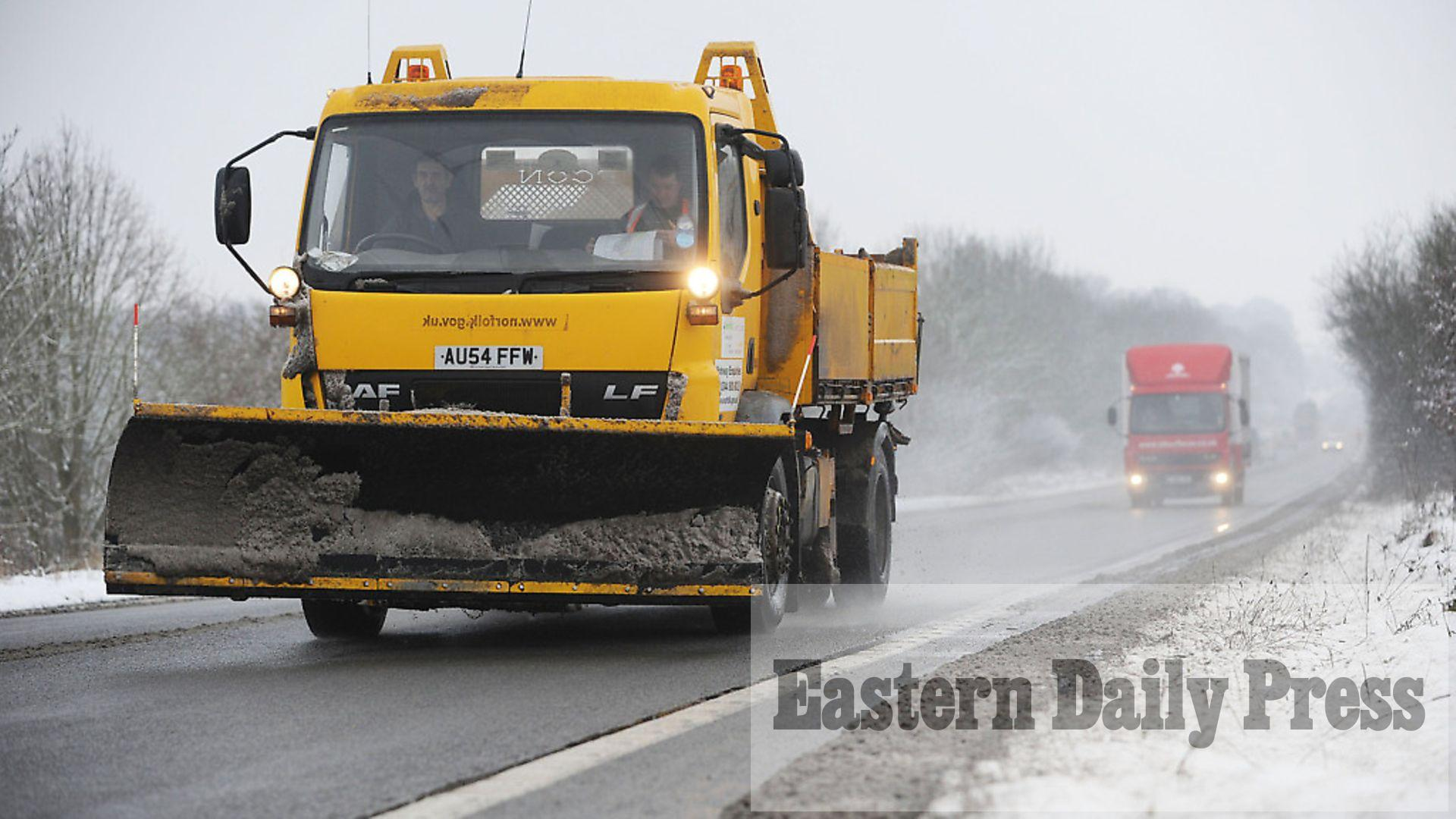 Met Office issues ice weather warning for Norfolk and ...